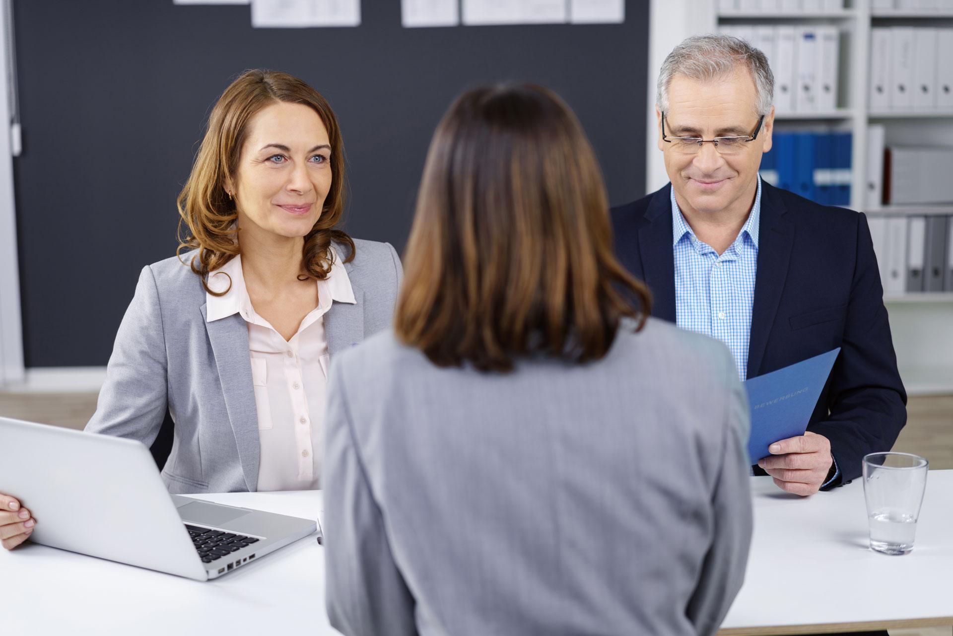 Bewerbungsgespräch-Berufung