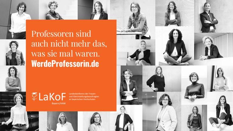 Kampagne 'Professorin werden!'